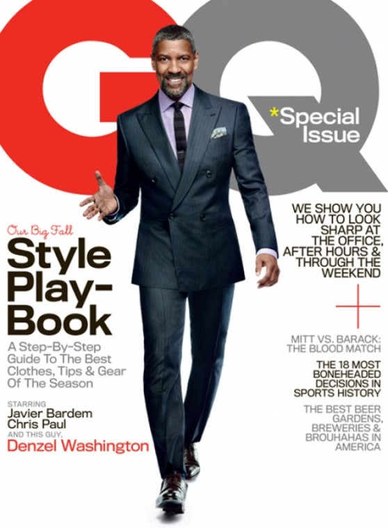 Denzel Washington Covers GQ Magazine