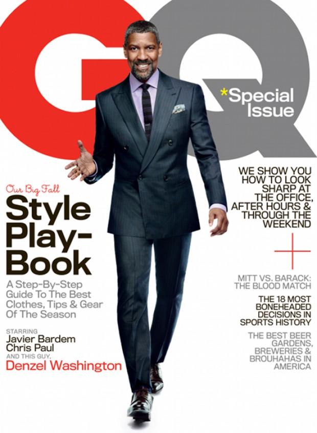 Denzel Washington Covers GQ Magazine